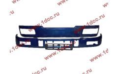 Бампер C синий верхний+нижний (в сборе) фото Калининград
